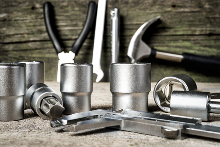 tools kit  Stock Photo