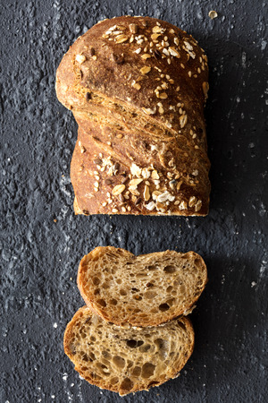 sliced bread  Reklamní fotografie