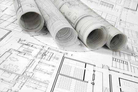 Architektonisches Projekt Standard-Bild - 99904222