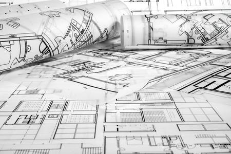 Architektonisches Projekt Standard-Bild - 99910675