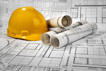Architektonische und Bauprojekt Standard-Bild - 99904227