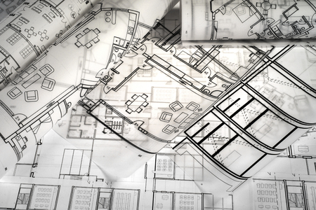 Architectural project drawings