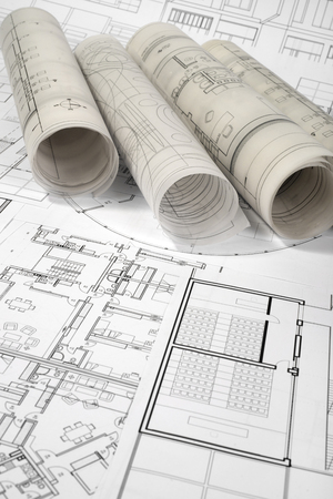 architectural and construction project drawings