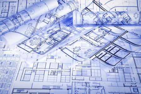 Architektonisches Projekt Standard-Bild - 99904235