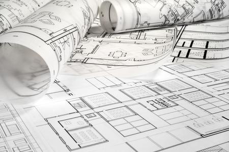 Architektonisches Projekt Standard-Bild - 99910739