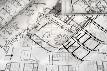 Architektonisches Projekt Standard-Bild - 99997337