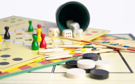 Various boardgames