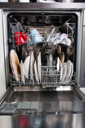 dishwasher: dishwasher Stock Photo