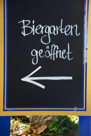 biergarten: beergarden in Munich