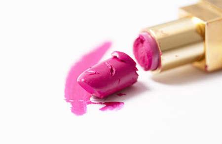 broken lipstick