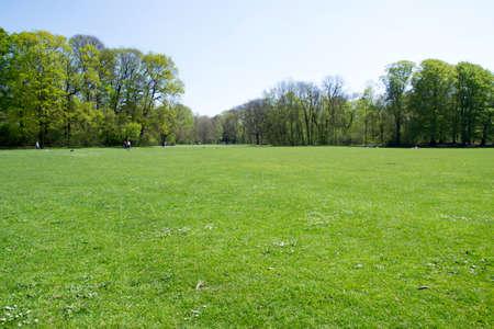 water park: Munich in spring