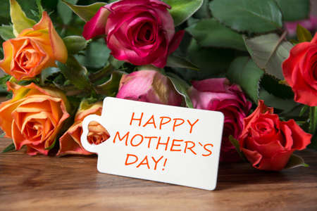 message card: happy Mother`s day