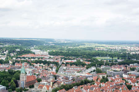 munster: panorama of Ulm