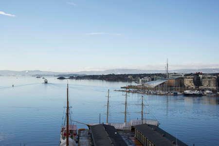 oslo: nice day in Oslo Stock Photo