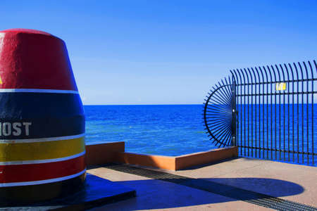bahamian: the southernmost point in KEy West