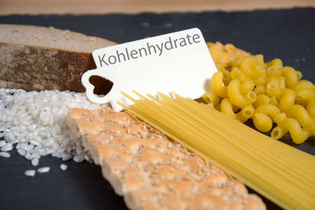 Kohlenhydrate - the german word for carbs