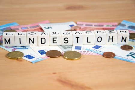 mindestlohn- the german word for minimum wage