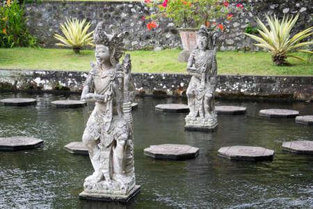 Indonesia, Bali, Tirtagangga, Water