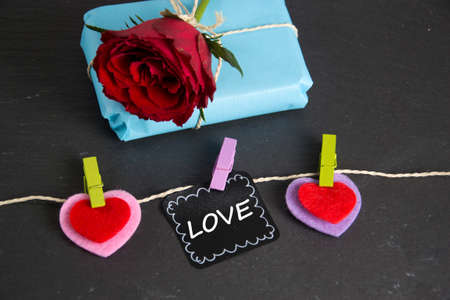 a nice symbol photo for love Stock Photo