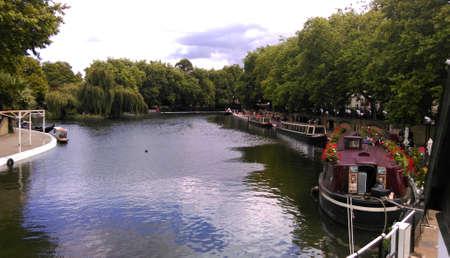 klein Venedig in London Standard-Bild