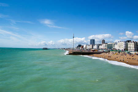 brighton: a photo of the beautiful brighton Stock Photo