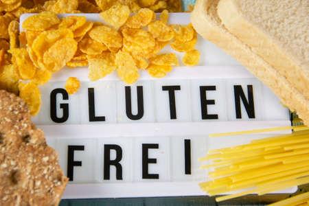Gluten Frei - german for gluten free