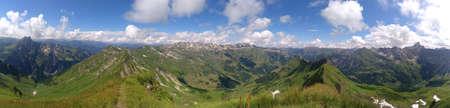 Germany, Bavaria, Allg?u Alps - hiking through the allg?u alps
