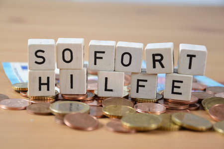 Soforthilfe( german word for emergency relief )