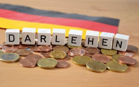 Darlehen - the german word for loan