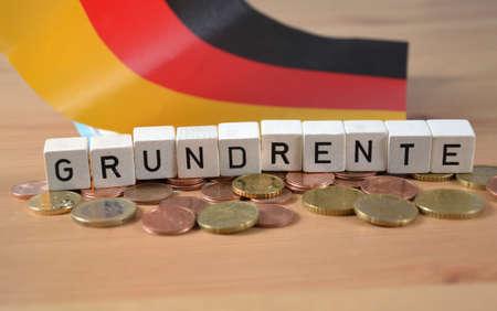 Grundrente - the german word for basic pension