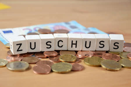 Zuschuss - the german word for grant