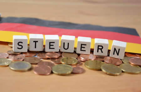Steuern - the german word for tax