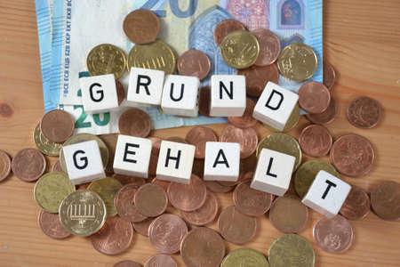 Gehalt ( german word for basic salary )