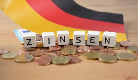Zinsen- the german word for interest
