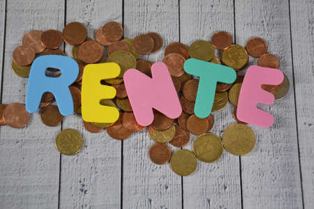 Rente- the german word for pension