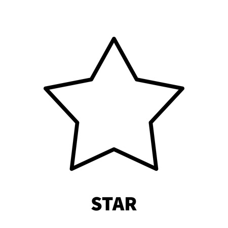 Star icon or logo in modern line style high quality black outline star icon or logo in modern line style high quality black outline royalty free cliparts vectors and stock illustration image 71474202 sciox Images