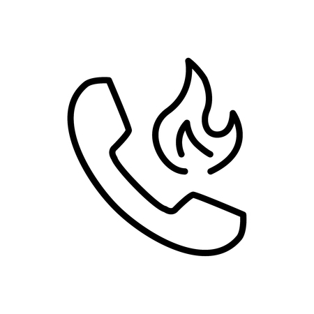 handphone: Premium phone icon or logo in line style. High quality sign and symbol on a white background. Vector outline pictogram for infographic, web design and app development.