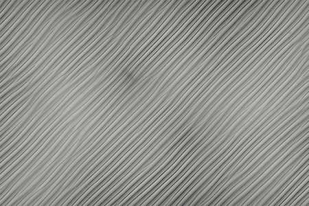 Fluted striped texture of a metal plate black and white