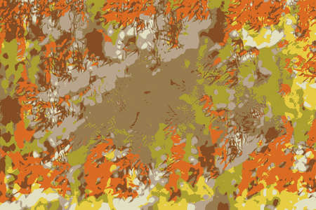 Abstract background with autumn  leaves