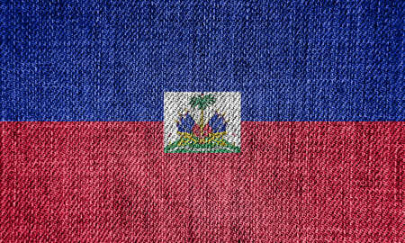 the americas: Flag of Haiti