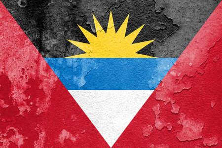 the americas: Flag of Antigua and Barbuda