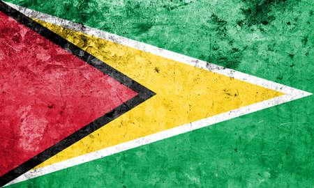 the americas: Flag of Guyana