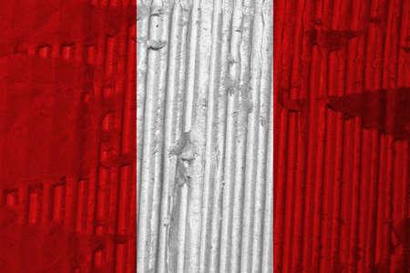 the americas: Flag of Peru