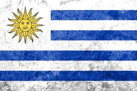 the americas: Flag of Uruguay