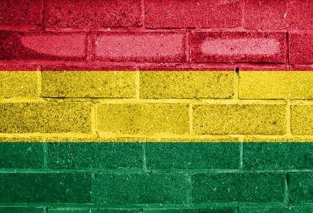 the americas: Flag of Bolivia