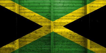 the americas: Flag of Jamaica