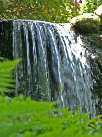 flowing water: Flowing water Stock Photo