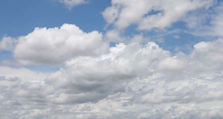 bird 's eye view: Sky and clouds background