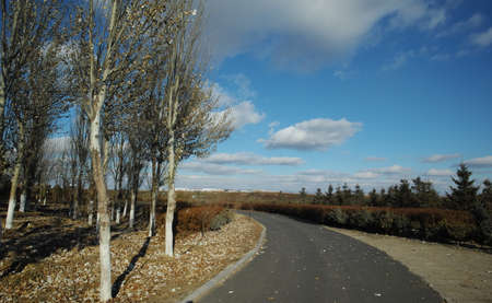 inner mongolia: Inner Mongolia autumn scenery Stock Photo