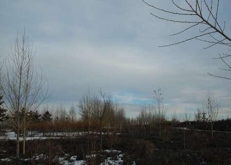 inner mongolia: Inner Mongolia winter scenery Stock Photo